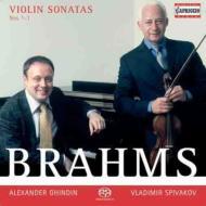 ヴァイオリン・ソナタ第1番、第2番、第3番 スピヴァコフ(vn)ギンディン(p)