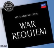 戦争レクィエム(リハーサル風景付き) ブリテン&ロンドン交響楽団、他(2CD)