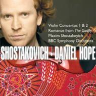ヴァイオリン協奏曲第1番、第2番 D.ホープ(vn)M.ショスタコーヴィチ&BBC交響楽団