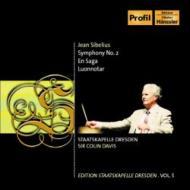 交響曲第2番、他 C.デイヴィス&ドレスデン・シュターツカペレ