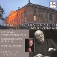 Violin Concerto, Romances: Tetzlaff(Vn)Zinman / Zurich Tonhalle O