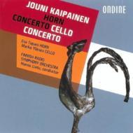 Horn Concerto, Cello Concerto.1: Lintu / Finnish Rso Tapani(Hr)Ylonen(Vc)