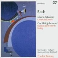Oster-oratorium: Bernius / Stuttgart Baroque O & Chamber Cho +c.p.e.bach