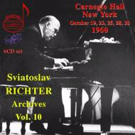 リヒテル(p)/リサイタル・イン・カーネギー・ホール[1960年10月](6CD)