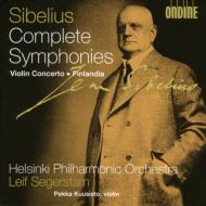 交響曲全集、ヴァイオリン協奏曲、他 セーゲルスタム&ヘルシンキ・フィル、P.クーシスト(vn)(4CD)