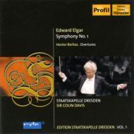 エルガー:交響曲第1番、ベルリオーズ:序曲『リア王』、他 コリン・デイヴィス&シュターツカペレ・ドレスデン