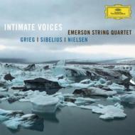 シベリウス:『親愛なる声』、グリーグ:弦楽四重奏曲、他 エマーソン弦楽四重奏団