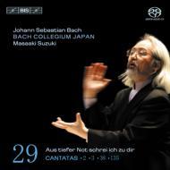 カンタータ全集第29集(第2、3、38、135番) 鈴木雅明&BCJ