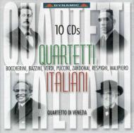 イタリアの弦楽四重奏曲 ヴェネツィアSQ(10CD)