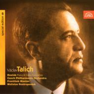 チェロ協奏曲、ピアノ協奏曲 ロストロポーヴィチ(vc)ターリヒ&チェコ・フィル、他