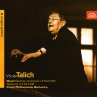 交響曲第39番、協奏交響曲 K.297b ターリヒ&チェコ・フィル