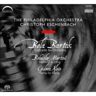 管弦楽のための協奏曲、他 エッシェンバッハ&フィラデルフィア管