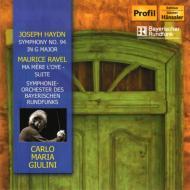 ハイドン:交響曲第94番『驚愕』、ラヴェル:組曲『マ・メール・ロワ』 ジュリーニ&バイエルン放送響(1979 ステレオ)