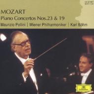 モーツァルト:ピアノ協奏曲第19番、第23番 ポリーニ&ベーム/ウィーン・フィルハーモニー管弦楽団
