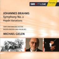 交響曲第2番、ハイドン変奏曲 ギーレン&南西ドイツ放送響