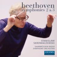 交響曲第2番、第3番『英雄』 スクロヴァチェフスキ&ザールブリュッケン放送響(2CD)