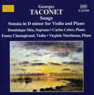 14の歌曲集/ヴァイオリンとピアノのためのソナタ ニ短調 メア/セブロ/クラマジラン/マルティノ