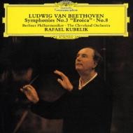 ベートーヴェン:交響曲第3番≪英雄≫&8番 ラファエル・クーベリック