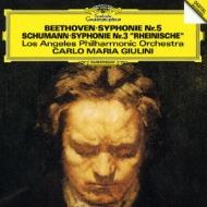Beethoven: Symphony No.5/Schumann: Symphony No.3