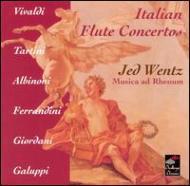 Italian Flute Concertos: Wentz / Musica Ad Rhenum
