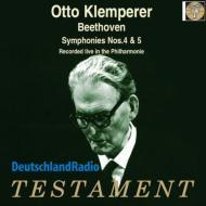 交響曲第4番、第5番『運命』 オットー・クレンペラー&ベルリン・フィル