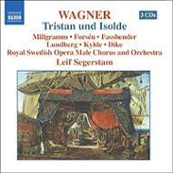 『トリスタンとイゾルデ』全曲 セーゲルスタム&スウェーデン王立歌劇場、ミルグラム、H.ファスベンダー、他(2004 ステレオ)(4CD)