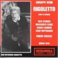 『リゴレット』全曲(ドイツ語) フリッチャイ&ベルリンRIAS響、シュトライヒ、メッテルニヒ、他(1950 モノラル)(2CD)