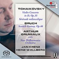 チャイコフスキー:ヴァイオリン協奏曲、ブルッフ:スコットランド幻想曲 グリュミオー(vn)