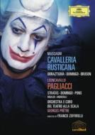 『カヴァレリア・ルスティカーナ』全曲、『道化師』全曲 ゼッフィレッリ監督、プレートル&スカラ座、ドミンゴ、他(1982 ステレオ)