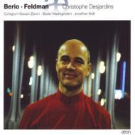 『ヴィオラ作品集〜ベリオ、フェルドマン』 クリストフ・デジャルダン、ジョナサン・ノット&コレギウム・ノヴム・チューリッヒ、他