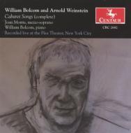 Cabaret Songs: J.morris(Ms)Bolcom(P)+weinstein