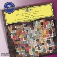 ピアノ協奏曲、左手のためのピアノ協奏曲 アース(p)パレー&フランス国立放送管