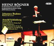 ブラームス:交響曲全集+シェーンベルク:管弦楽作品集 レーグナー(4CD)