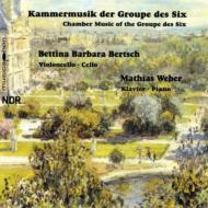 Works For Cello & Piano By Le Groupe Des Six: Bertsch(Vc)m.weber(P)