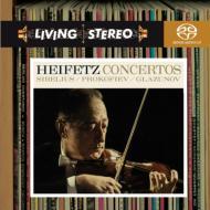 シベリウス、グラズノフ、プロコフィエフ:ヴァイオリン協奏曲集 ハイフェッツ
