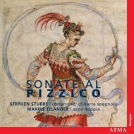 Sonate Al Pizzico: Stubbs(Chitarrone, Etc), Eilander(Arpa Doppia)