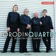 弦楽四重奏曲第11番『セリオーソ』、第14番、大フーガ ボロディン四重奏団(2003)
