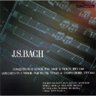 オーボエとヴァイオリンのための協奏曲、他 カントロフ(vn)ブルグ(ob)、他