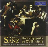 Spanish Dances Of The 17th Century: Mendoze / Ens.musica Antiqua Provence