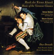 ヴァイオリンとギターのためのウィーン古典派音楽 ドナート二重奏団