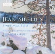 交響曲第3番、第5番 セーゲルスタム指揮ヘルシンキ・フィル