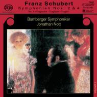 交響曲第4番『悲劇的』、第2番 ノット&バンベルク交響楽団