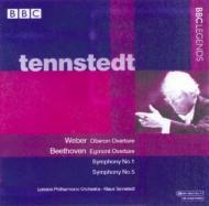 交響曲第1番、第5番『運命』、エグモント、他 テンシュテット&LPO(ステレオ)
