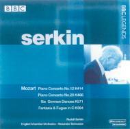 ピアノ協奏曲第12番、第20番、他 ゼルキン(p)、シュナイダー&イギリス室内管