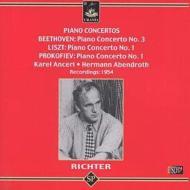Piano Concerto.3 / 1: S.richter(P)abendroth, Ancerl(Cond)+liszt: Concerto.1