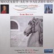 交響曲第40番、第38番『プラハ』 ボルトン&モーツァルテウム管