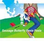 落書き : Sausage Butterfly Pas...