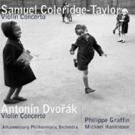 サミュエル・コールリッジ・テイラー:ヴァイオリン協奏曲、ドヴォルザーク:ヴァイオリン協奏曲/グラファン(vn)、ハンキンソン(con)