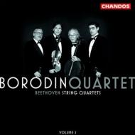 弦楽四重奏曲第8番『ラズモフスキー第2番』、第10番『ハープ』 ボロディン四重奏団(2003)