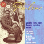 Works For Piano & Orch: Le Sage(P), Deneve / Rtbf.o, Braley(P)